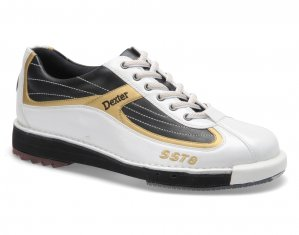 Dexter Shoes SST 8 White/Black/Gold
